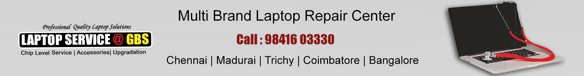 laptop service center in kk nagar chennai